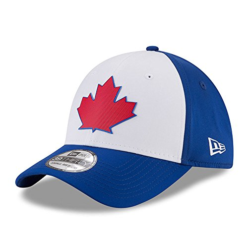 (New Era Toronto Blue Jays 2018 On-Field Prolight Batting Practice 39THIRTY Flex Hat - Blue/White (S/M))