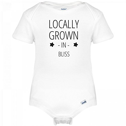 Bliss Onesie (Baby Locally Grown In Bliss: Infant Gerber Onesies)