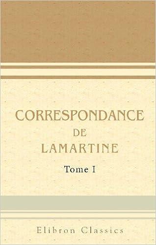 Livre En Anglais Pdf Download Correspondance De Lamartine