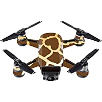 Skin For DJI Spark Mini Drone – Giraffe | MightySkins Protective, Durable, and Unique Vinyl Decal wrap cover | Easy To Apply, Remove, and Change Styles | Made in the USA