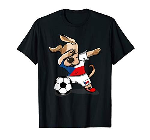 Dog Dabbing Czech Republic Soccer Jersey Shirt Football Gift
