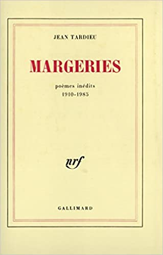 Margeries Poèmes Inédits 1910 1985 Blanche Amazones