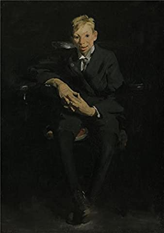 Oil Painting 'George Wesley Bellows,Frankie,the Organ Boy,1907' Printing On High Quality Polyster Canvas , 24x34 Inch / 61x87 Cm ,the Best Garage Gallery Art And Home Gallery Art And Gifts Is This High Quality Art Decorative Canvas (Wake Up Frankie)