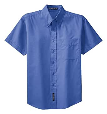 Port Authority Men's Button-Down Collar Shirt_Ultramarine Blue_X-Small