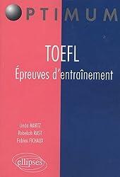 TOEFL Épreuves d'Entraînement