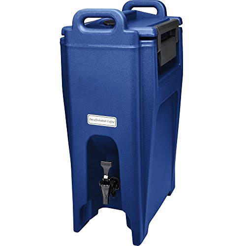 TableTop King UC500186 Navy Blue Ultra Camtainer 5.25 Gallon Insulated Beverage ()