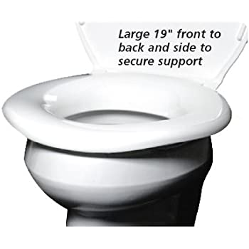 Bariatric Heavy Duty Toilet Seat Supports 1200lbs And Is