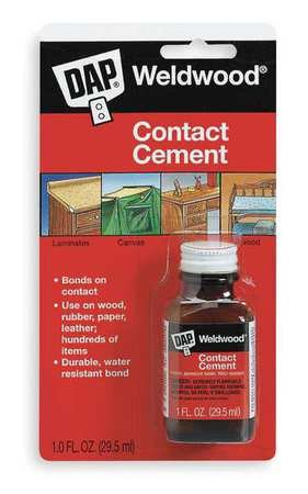 Contact Cement, General Purpose, 1 Oz ()