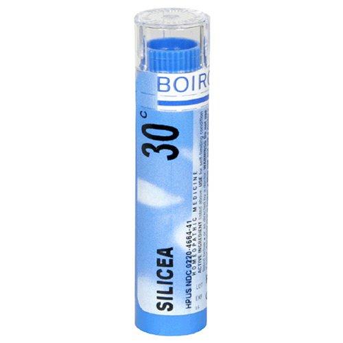 Boiron remède homéopathique Silicea, Granules 30C, 80-Count Tubes (Pack de 5)