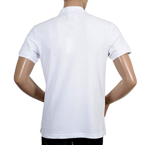 Giorgio Armani Herren Poloshirt weiß weiß