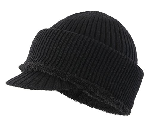 271083a50f7 Home Prefer Mens Winter Neck Warmer Hat Tuque Visor Beanie Ear Warmer Face  Cover