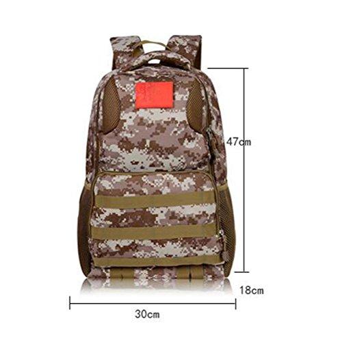 Mochila 36L Militar camuflaje estilo impermeable Sporting Escalada Mochila al aire libre , 201 3002