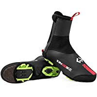 KINGBIKE Cycling Shoes Cover Overshoes,Winter Windproof Warm Protection