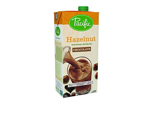 Pacific Foods Hazelnut Chocolate Non-Dairy Beverage Aseptic Carton, 32 fl (Non Dairy Products)