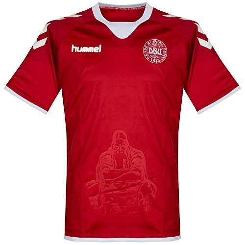 Denmark Soccer Jersey - 1