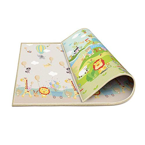 Xinyi Baby Crawling Mat Climbing mat Folding Game Mat Bedroom Living Room Thickened Anti-Slip Waterproof 1.8x2m