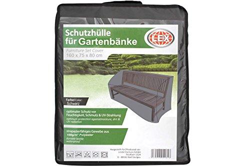 LEX Schutzhülle für Gartenbank bis 160 cm Bank Sitzbank Park