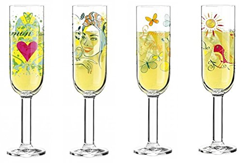 Gift Box Aperitif - Ritzenhoff - Limoncello series - Cocktail Glass in a Gift Box, 275 ml (4 x GLASSES SET)