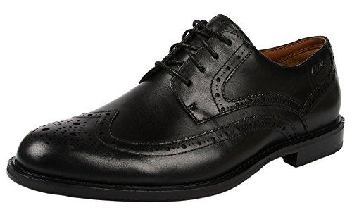 Dorset Richelieu Con Limit black Uomo Lacci Leather Da Clarks Nero Scarpe dwXXt