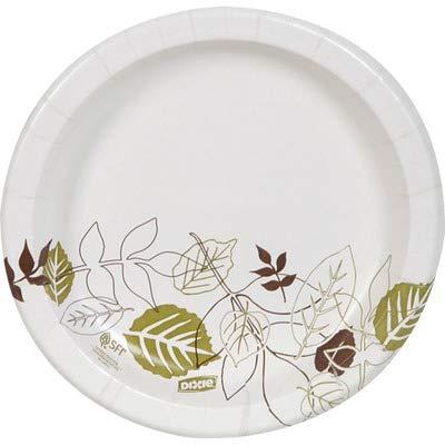 Dixie Pathways Design Everyday Paper Plates - 8.50amp;quot; Diameter Plate - 125/Pack