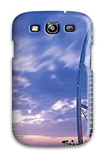 Galaxy S3 Case Cover - Slim Fit Tpu Protector Shock Absorbent Case (al Burj Tower Jumeirah Dubai)