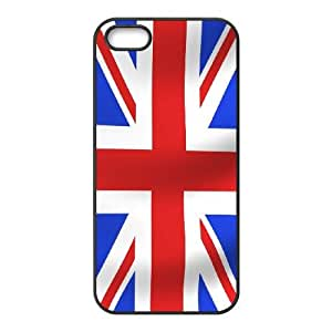 Union Jack Flag iPhone 5 5s Cell Phone Case Black MSU7146452
