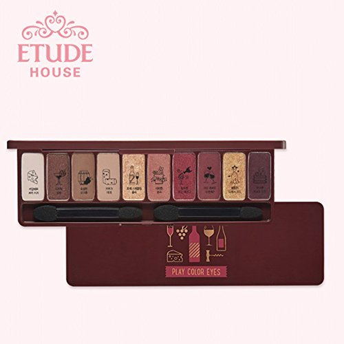 [Etude House]Play Color Eyes Eye Shadow Palette Wine Party/4 Best Picks/6 New Colors/Autumn makeup ()