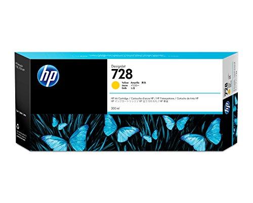 HP HP 728 300-ml Yellow Ink Crtg