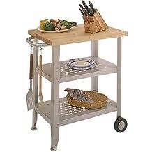 John Boos Co. Cucina Avanti Maple Top Kitchen Cart #Cucav01