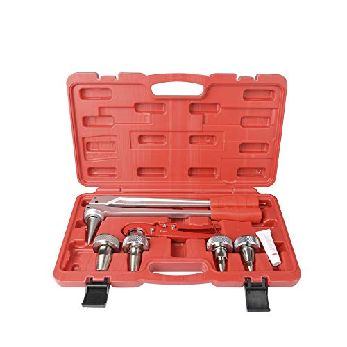 """(IWISS 1/2"""",3/8"""",3/4"""",1"""" Expanding Tool Kit with Pipe Cutter for ProPex Fitting meets ASTM F1960 suits Uponor ProPex,Wirsbo)"""