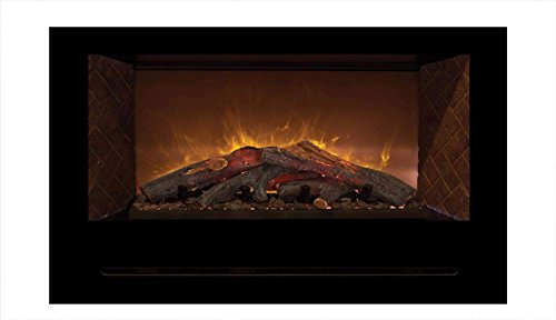 Cheap Modern Flames Home Fire Series Electric Fireplace with Log Set and Red Herringbone Side Panels 42-Inch Black Friday & Cyber Monday 2019