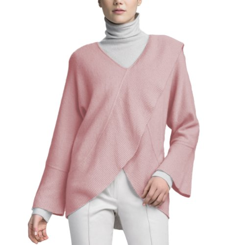 Pink 100% Cashmere Sweater - 9