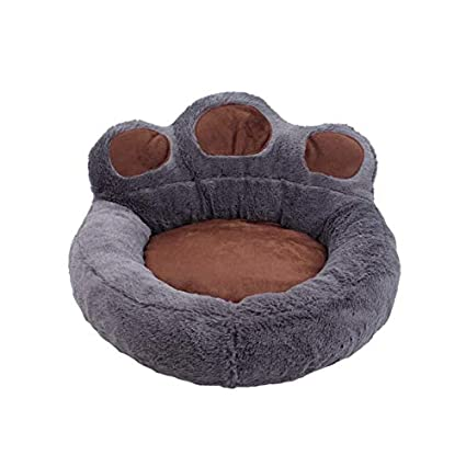 Amazon.com : ATUSY Pet Dog Bed Bear Paw Soft Fleece Dog House Kennels Dog Beds & Mats Cama Perro Pet Bed Mantas Perro Small Medium Puppy : Pet Supplies