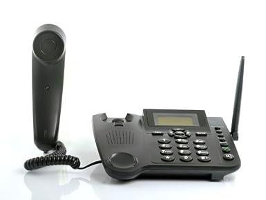 Wireless GSM Desktop Phone - Desktop Style Phone with SIM
