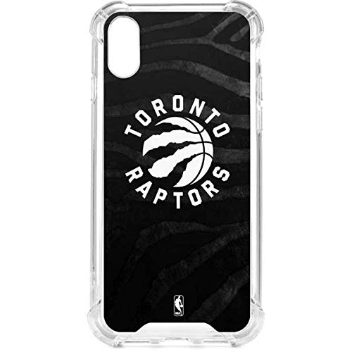 Skinit Toronto Raptors Animal Print iPhone XR Clear Case - NBA - Skinit Clear Case - Transparent iPhone XR Cover