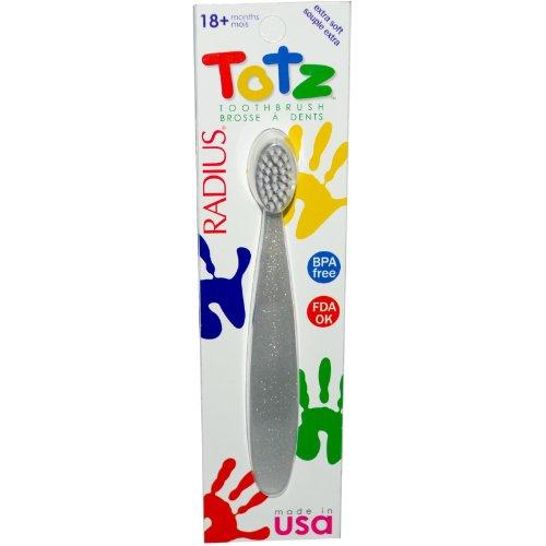 Rayon Totz Brosse à dents - 18 mois + - couleurs assorties