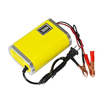 Usstore Motorcycle Car Auto 12V 6A Battery Charger Intelligent Charging Machine