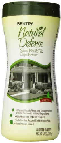 Sentry Natural Defense Natural Flea and Tick Household Powder, 10-Ounce