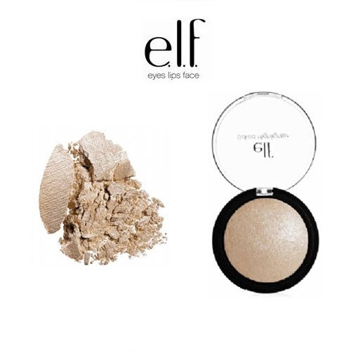 2 Pack e.l.f. Cosmetics Studio Baked Highlighter 83704 Moonlight Pearls
