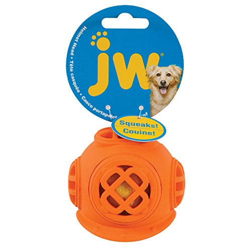 JW Pet Company Diver Helmet Head Pet Chew Toys