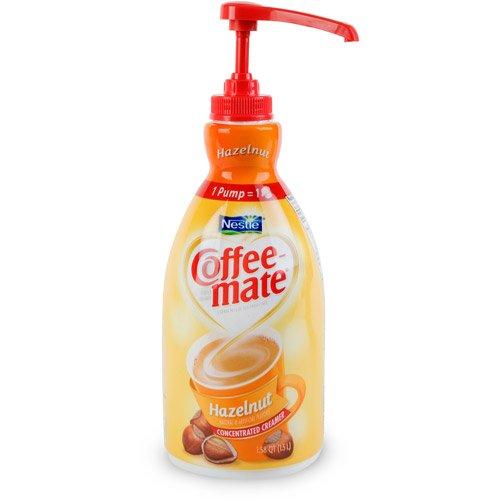 Coffee-mate Hazelnut Liquid Creamer, 1.5 l
