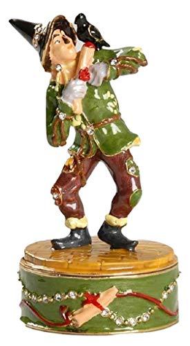 Wizard Of Oz Jeweled Boxes - DEPT.8 Wizard of Oz Scarecrow Jeweled Jewelry Trinket Small Box