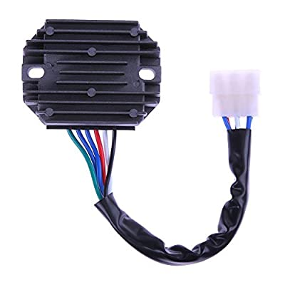 Voltage Regulator Rectifier for Kawasaki John Deere Grasshopper Kubota 821G by TTnight