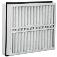 Eco-Aire 21x23 1/2x5 MERV 13, Pleated Air Filter, 21 x 23 1/2 x 5, Box of 2, Made in the USA