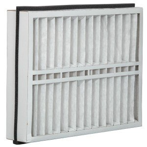 Eco-Aire 21x23 1/2x5 MERV 13, Pleated Air Filter, 21 x 23 1/2 x 5, Box of 2, Made in the USA by Aerostar
