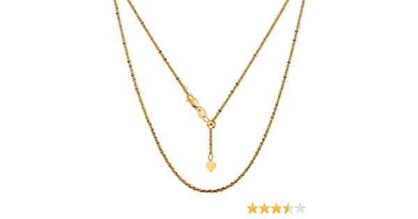 Flat Link Chain Gold Necklace 14K Gold Glitter Chain Necklace Minimalist Necklace 14K Solid Gold Chain Necklace Sparkle Chain Necklace