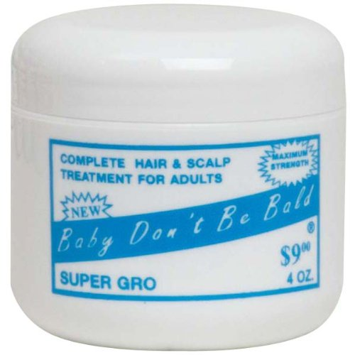 Baby Dont Be Bald Super GRO 4 0z (Best Products For Baby Hair Growth)
