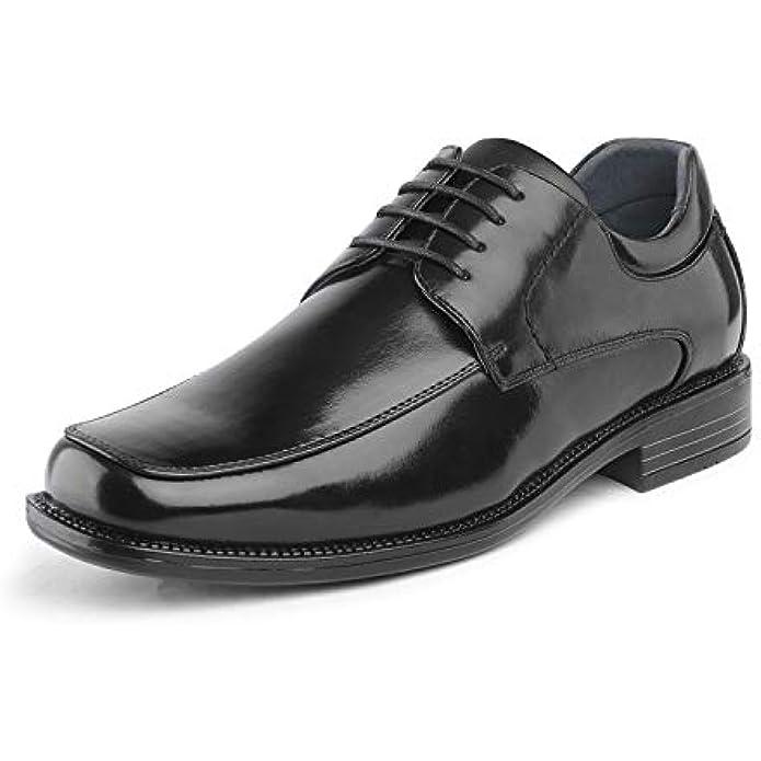 Bruno Marc Men's Square Toe Classic Business Dress Shoes