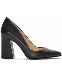 43f5f8fd57 Amazon.com | Vince Camuto Women's Coper Dress Pump Black Patent, 10 ...