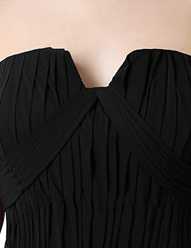 Maxikleid Formale Clearbridal Kleid Brautjungfer Bandage Farbverlauf UK10 CSD231 Damen Abendkleid Chiffon x5rSqYPr